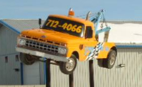 Flying Tow Truck
